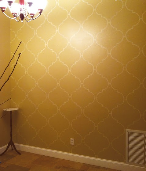 DIY_Wall_Stencil_After